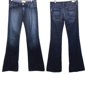 Paige Laurel Canyon Low Rise Boot Cut Jeans